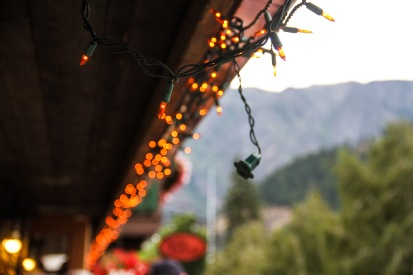 It's always a little christmassy in Leavenworth.