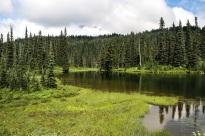 Reflection Lake. Thoughtful name, innit?