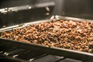 I made a batch of chocolate granola last night and haven't stopped eating since.