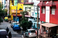 Vibrant Rajajinagar streets.